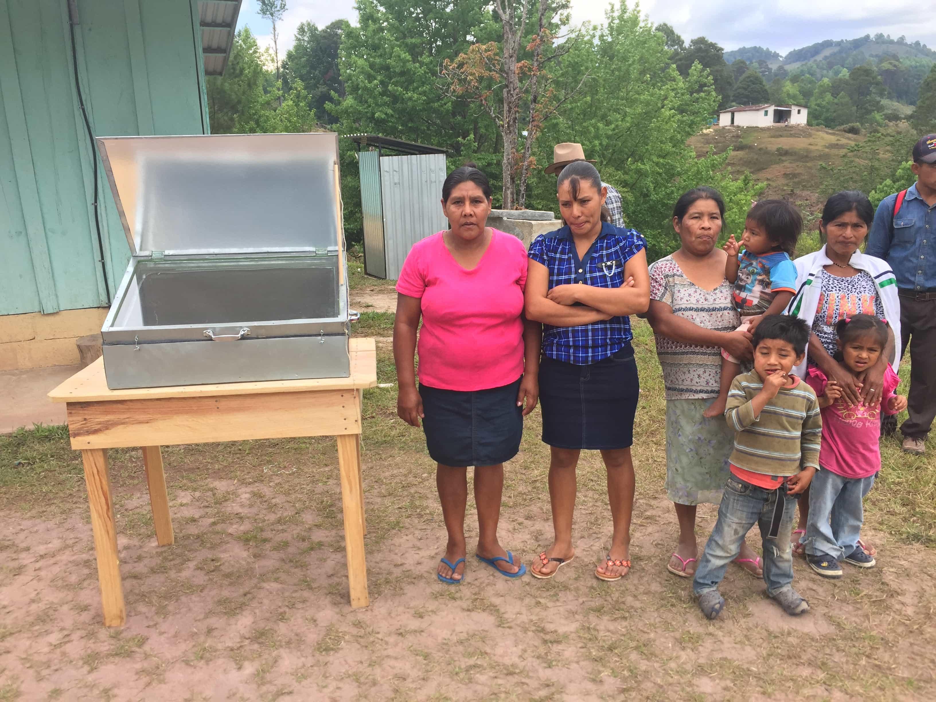 Solarkocher für den Weiler Buenos Aires