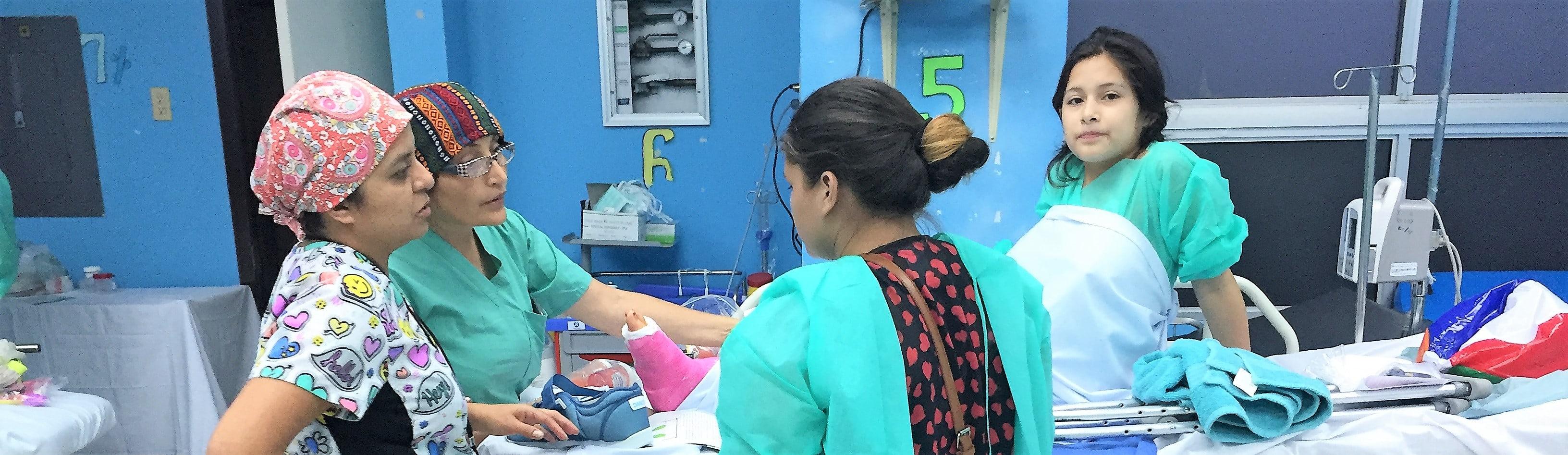 Orthopädische Hilfe für Honduras